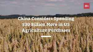 Will China Agree To Spend 30 Billion More A Year In The USA [Video]