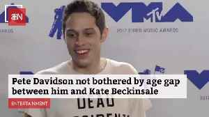 Pete Davidson Is Comfortable In His Relationship With Kate Beckinsale [Video]