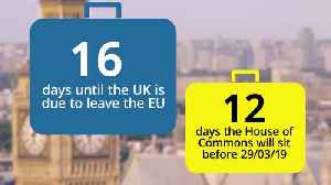 Countdown to Brexit: 16 days until Britain leaves the EU [Video]