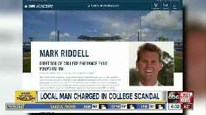 Tampa Bay area man charged in college application scandal [Video]