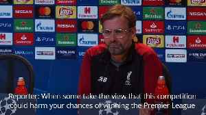 Klopp hits out at claims Liverpool should accept Champions League exit [Video]