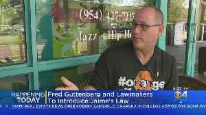 Fred Gutenberg, Lawmakers To Introduce