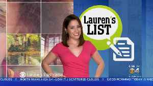 Lauren's List: Tips For Making Social Media A More Positive Experience [Video]