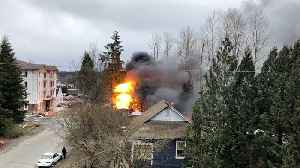 Explosion rocks tent city neighborhood in British Columbia [Video]
