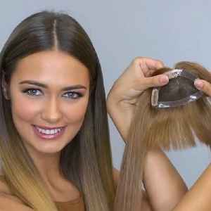 Clip-on bangs give you a new hairdo in seconds [Video]