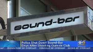 Sound Bar Closed After Fatal Shooting [Video]