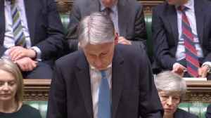 Philip Hammond Addresses Brexit Vote In Spring Statement [Video]