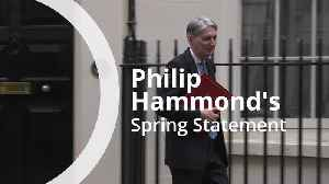 Philip Hammond's Spring Statement in 60 seconds [Video]