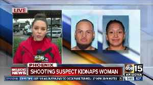 Suspect sought after shootings, kidnapping in Phoenix [Video]