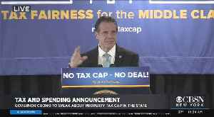 Web Extra: Gov. Cuomo Talks On Taxes, Spending [Video]