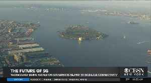Future Of 5G On Governor's Island [Video]