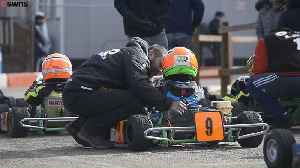 Meet 'Britain's youngest racing driver' - the fearless four-year-old who drives 40mph go karts [Video]