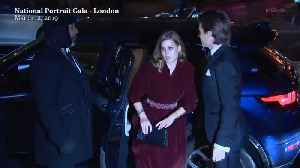 Right Now: Princess Beatrice and Edoardo Mapelli Mozzi Arrive at National Portrait Gala [Video]