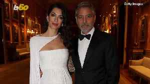 The Clooneys Look Like Royalty While Hanging with Prince Charles [Video]