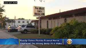 Family: Funeral Home Displayed Wrong Body At Wake [Video]