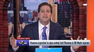 NFL Network's Peter Schrager: 'This is exactly what the (Baltimore) Ravens had in mind' [Video]