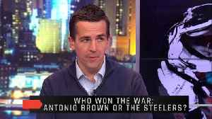 Who Won The Antonio Brown War: The Steelers Or Antonio Brown? [Video]