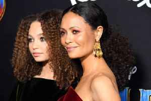 Thandie Newton was 'supportive' for teen daughter during Dumbo filming [Video]