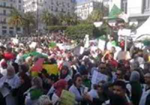 Protests Continue in Algiers Against President Extending Fourth Term [Video]
