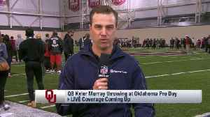 NFL Network's Daniel Jeremiah: One aspect of Oklahoma Sooners quarterback Kyler Murray's game is 'polar opposite' of Cleveland B [Video]