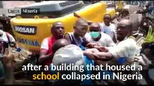 Children trapped in Nigeria building collapse [Video]