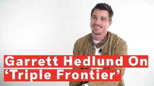 Garrett Hedlund Breaks Down 'Triple Frontier' And Meaning Behind Airborne Ranger Cadence [Video]