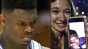 Zion Williamson CAUGHT Sending THIRSTY Snapchat Trying To Get UNC Girl Into His Bedroom! [Video]
