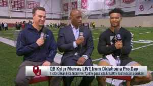 Oklahoma quarterback Kyler Murray: I texted Cleveland Browns quarterback Baker Mayfield last night after Odell Beckham Jr. trade [Video]