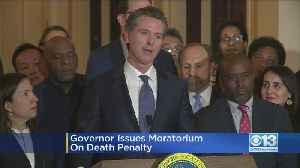 Gov. Newsom Signs Moratorium On Executions, Calling Death Penalty 'A Failure' [Video]