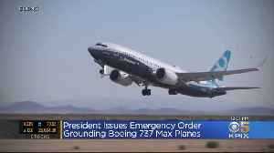 President Trump Issues Emergency Order To Ground Boeing 737 Max Jets [Video]