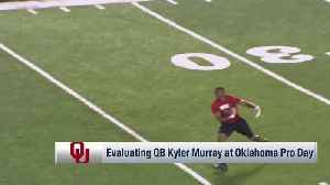 NFL Network's Bucky Brooks on Oklahoma Sooners quarterback Kyler Murray: He's a 'creative offensive coordinator's dream' [Video]