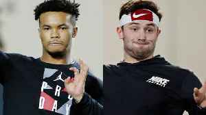 Daniel Jeremiah compares pro day workouts of Oklahoma Sooners quarterback Kyler Murray, Cleveland Browns QB Baker Mayfield [Video]