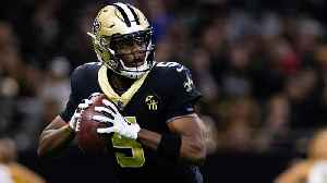 NFL Network Insider Ian Rapoport: Quarterback Teddy Bridgewater's deal with New Orleans Saints 'not done yet', Miami Dolphins ha [Video]