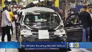 Fiat Chrysler Voluntarily Recalls Over 860,000 Vehicles Due To Emission Standards [Video]
