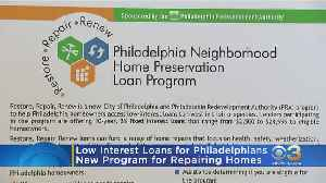 City Officials Launch Program Providing Low Interest Loans To Homeowners [Video]