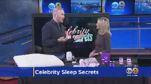 News video: Trouble Sleeping? Lifestyle Expert Shows Off Some Great Products To Help Improve Your Sleep