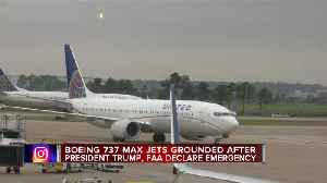 Boeing 737 Max Jets grounded after president Trump, FAA declare emergency [Video]
