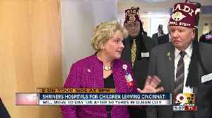Shriners hospital leaving Cincinnati [Video]