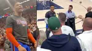 "Old Video Surfaces Showing Russell Westbrook being Called ""Boy' By Racist Utah Jazz Fan! [Video]"
