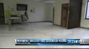 Warming Center has Extended Hours [Video]