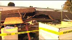 VIDEO: Mobile home collapses in Maxatawny Township, hurting 3 people [Video]
