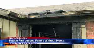 House Fire Leaves Family Without a Home [Video]