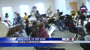 Educator of the Week - West Point Consolidated School District- March 13, 2019 [Video]