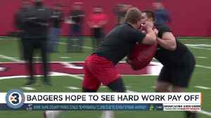 Badger Football Pro Day [Video]