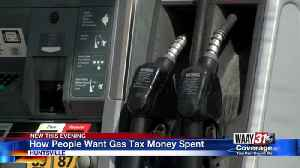 How People Want Gas Tax Money Spent [Video]