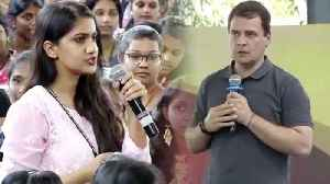 When a girl question Rahul Gandhi over Robert Vadra's corruption | Oneindia News [Video]