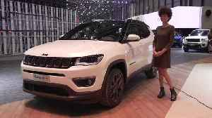 The new Jeep Compass S at the 2019 Geneva Motor Show [Video]