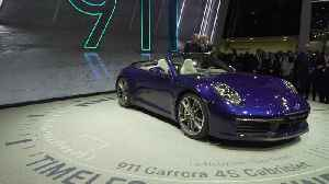 News video: The new Porsche 911 Carrera Cabriolet at the 2019 Geneva Motor Show