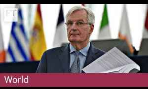 Michel Barnier warns risk of no-deal Brexit 'at highest' [Video]