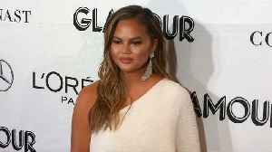 Chrissy Teigen weighs in on college admissions scandal with hilarious photoshopped snap [Video]